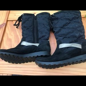Coach winter boots black